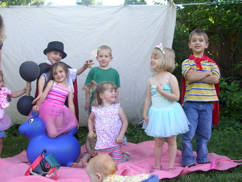Backyard Circus 2009 group