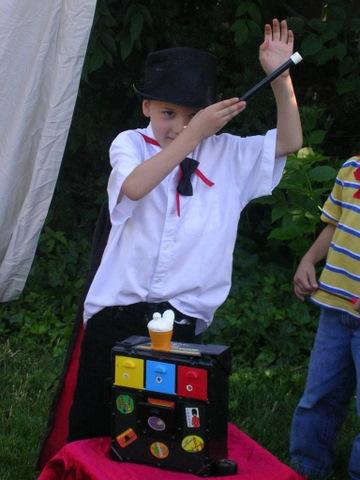 Backyard Circus 2009 Jeffrey