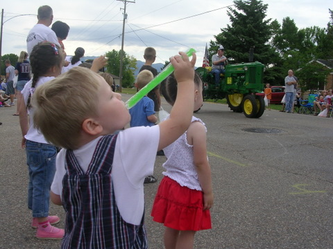 July 4 2009 parade wimmy otter pop