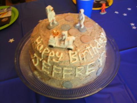 Jeffrey birthday 2009 cake