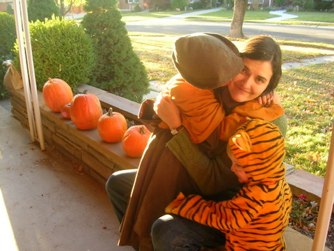 Halloween 2009 kiss