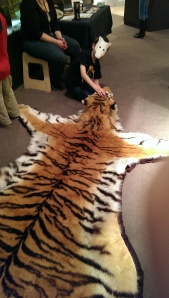 Tiger skin!
